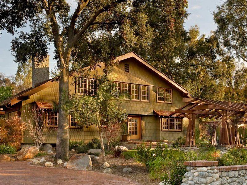 Greene and Greene Darling Home Designed by HartmanBaldwin