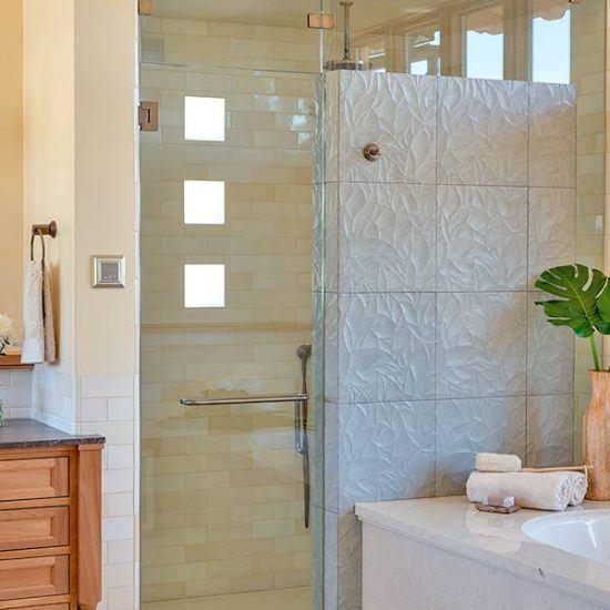 Rustic Contemporary Master Bathroom Designed by HartmanBaldwin