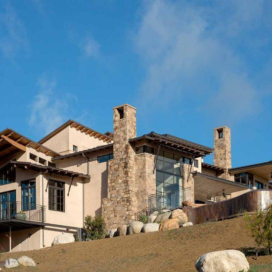 Contemporary Modern Rustic Style Custom Home Designed by HartmanBaldwin
