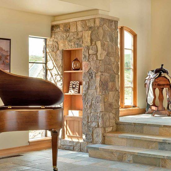 Rustic Contemporary Home Design by HartmanBaldwin