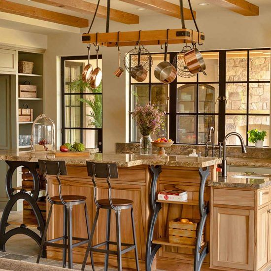 Contemporary Ranch Style Kitchen Designed by HartmanBaldwin