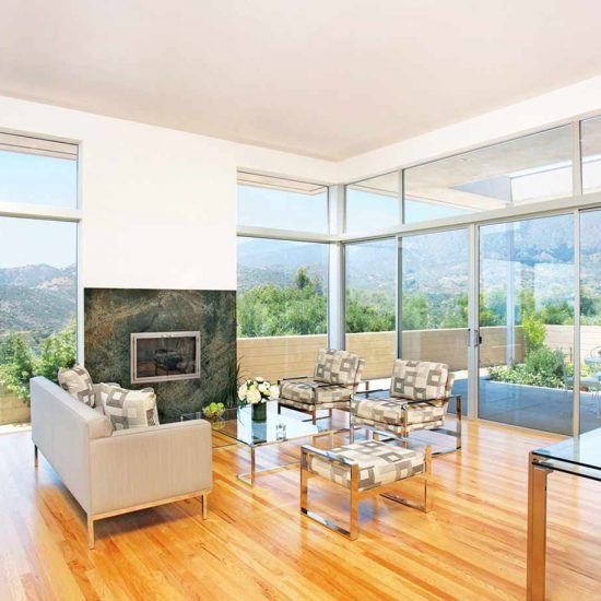 Mid-Century Modern Living Room Design by HartmanBaldwin