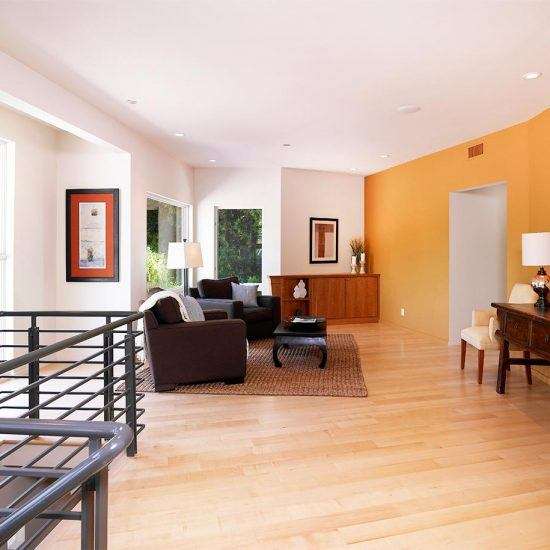 Modern New Custom Living Area by HartmanBaldwin