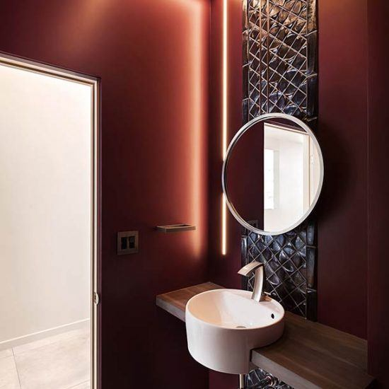 Contemporary Architecture Home Bathroom Remodel