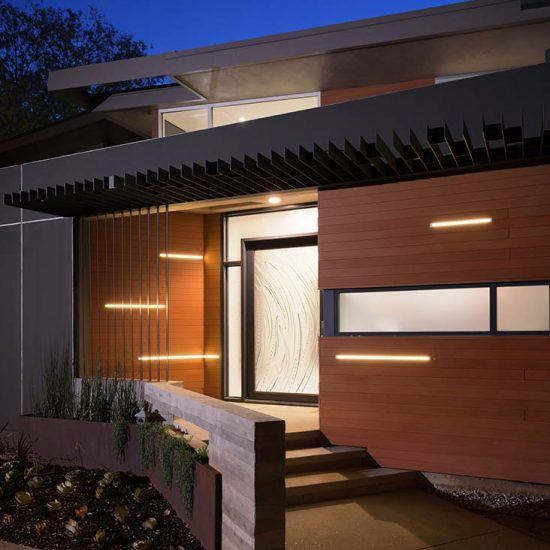 Contemporary Architecture Home Entrance by HartmanBaldwin
