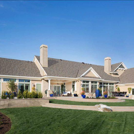 Hampton's Style Home & Outdoor Living Design by HartmanBaldwin