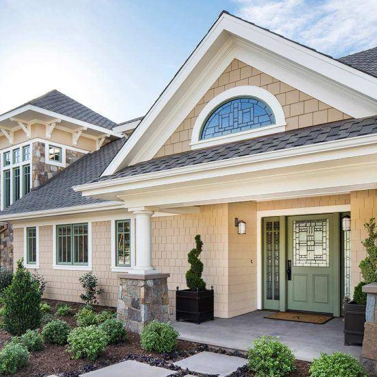 Hampton's Style Home Design by HartmanBaldwin