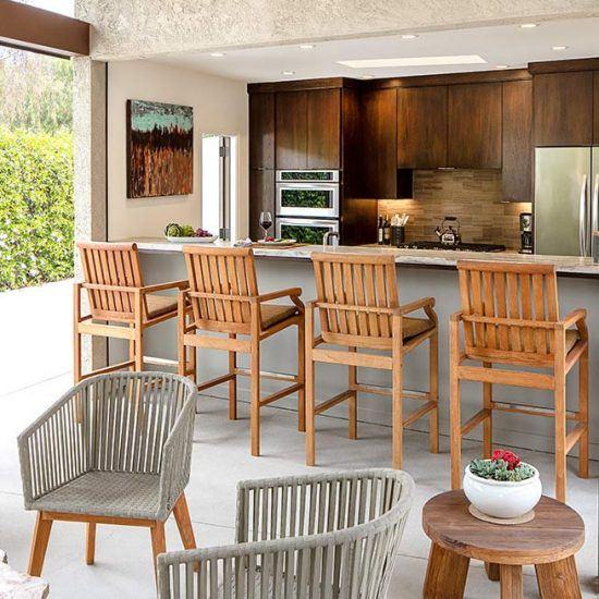 Luxury Outdoor Bar Design by HartmanBaldwin