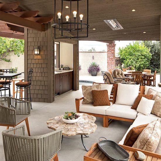 Luxury Outdoor Living Design by HartmanBaldwin