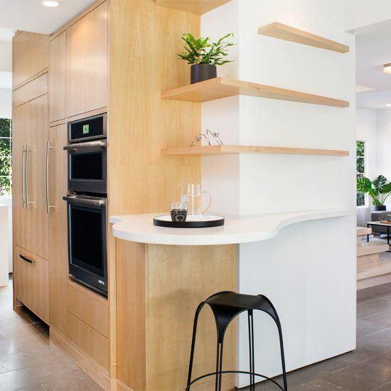 Modern Minimalist Living Design by HartmanBaldwin
