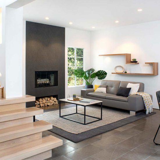 Modern Minimalist Living Room by HartmanBaldwin