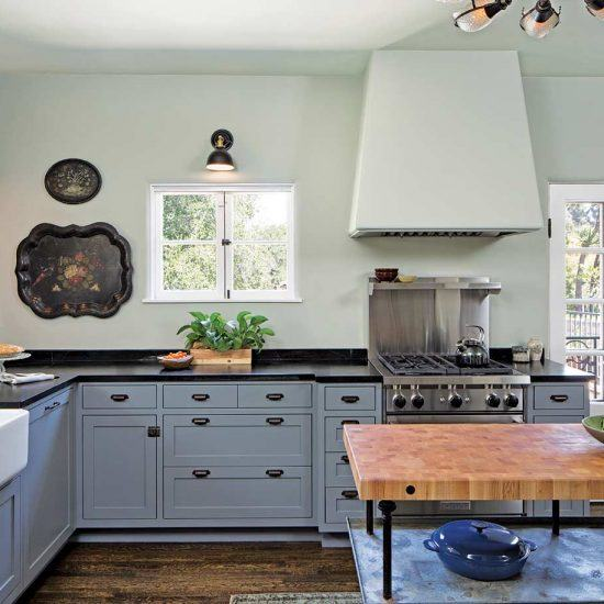 Custom Mediterranean Style Kitchen Designed by HartmanBaldwin