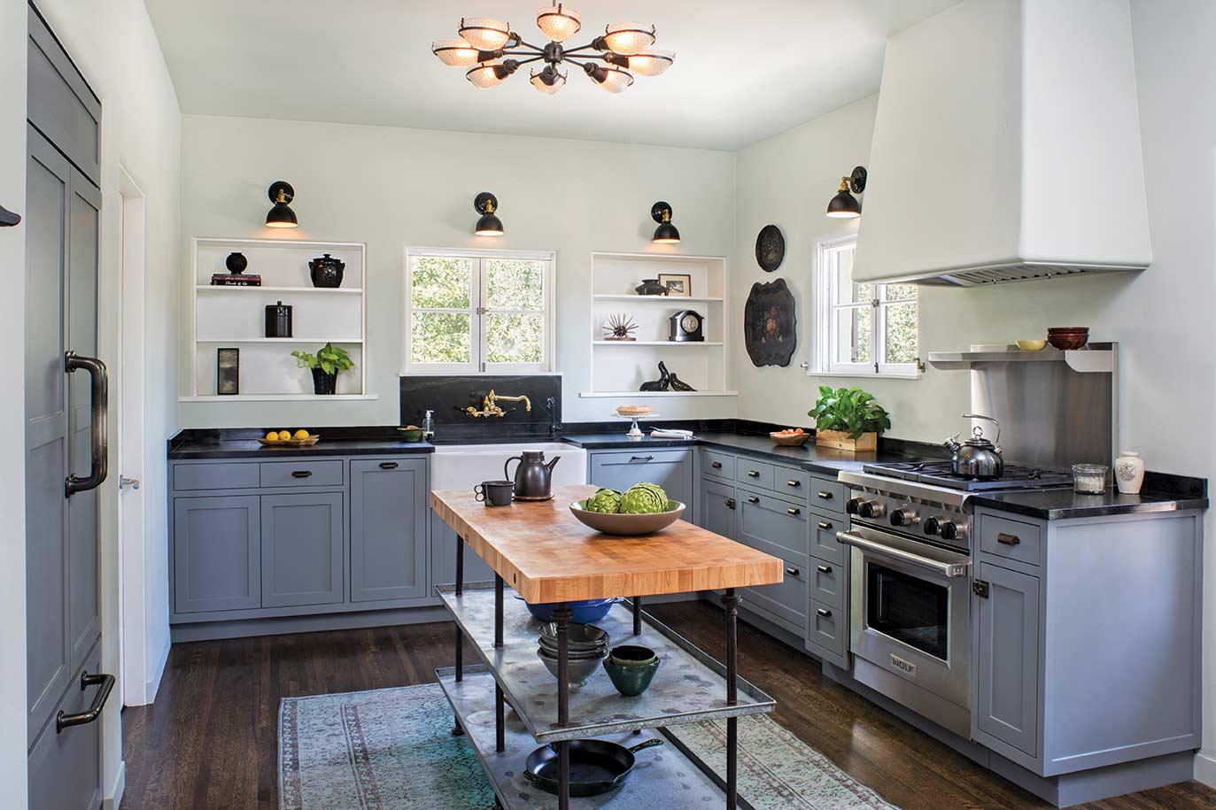 Custom Spanish Style Kitchen Designed by HartmanBaldwin