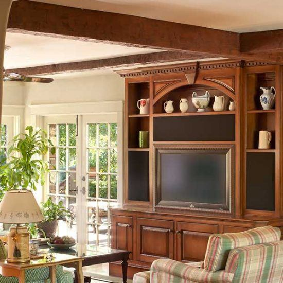 Traditional Country Wood Design by HartmanBaldwin