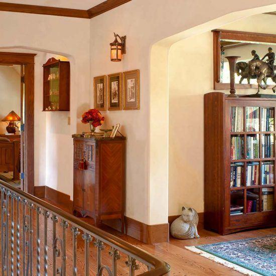 Traditional Style Study English Gardens Home by HartmanBaldwin