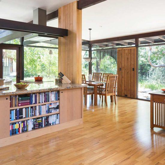 Mid-Century Modern Home Living Area by HartmanBaldwin