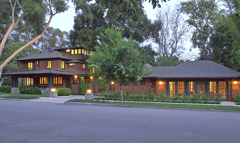 The home for the President of Claremont McKenna College underwent a major transformation with the help of HartmanBaldwin Design/Build. This renovation created an environment conducive to the needs of CMC and the president for private living and public entertaining.
