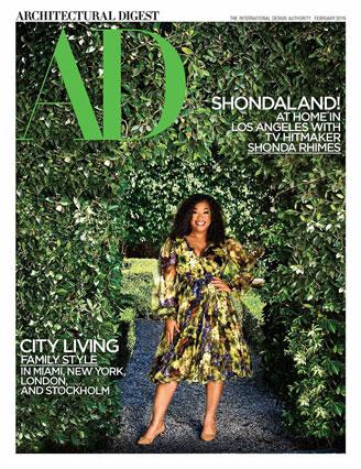 HartmanBaldwin in Shonda Rhimes Architectural Digest February Cover Story