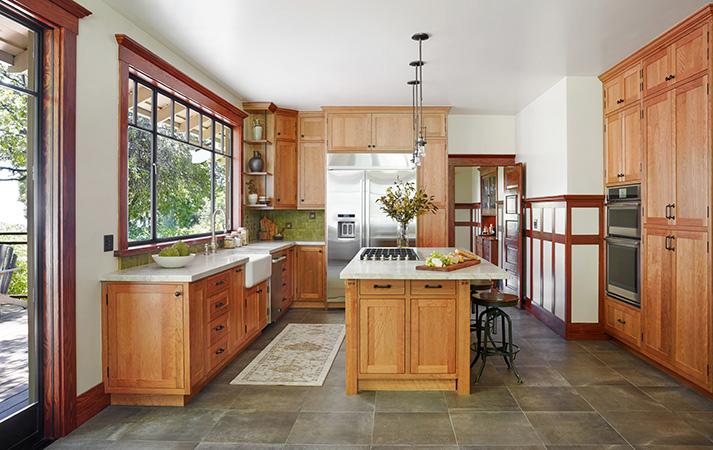 After MiraMonte Contemporary Craftsman Kitchen Remodel by HartmanBaldwin
