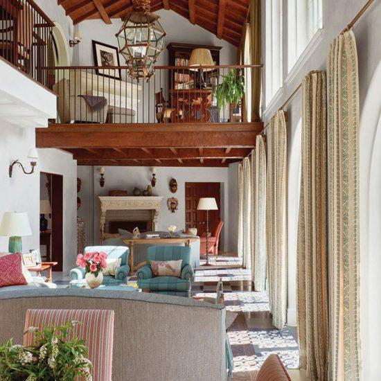 Italianate Villa Custom Home Restoration by HartmanBaldwin Photo by Architectural Digest