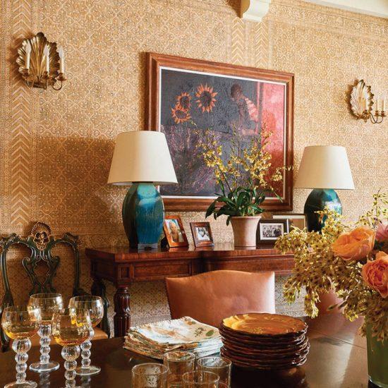 Italianate Villa Home Restoration by HartmanBaldwin Photo by Architectural Digest