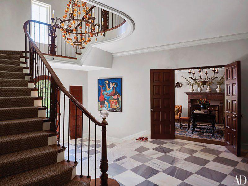 1923 Italianate Villa Restoration Designed by HartmanBaldwin Photo by Architectural Digest