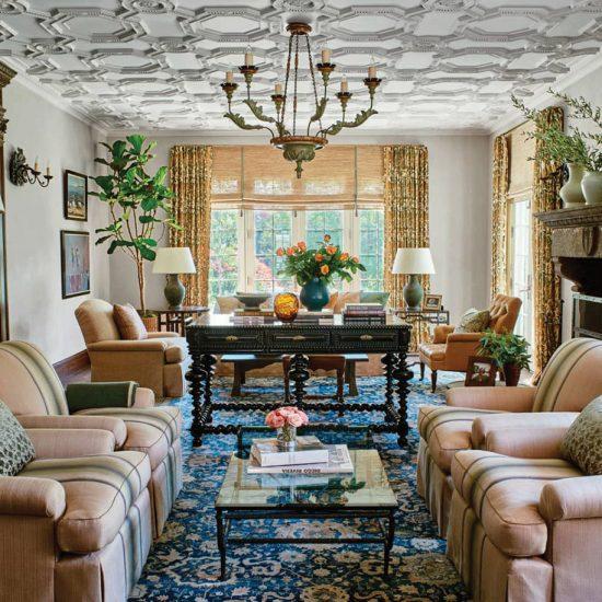 Italianate Villa Luxury Home Restoration by HartmanBaldwin Photo by Architectural Digest