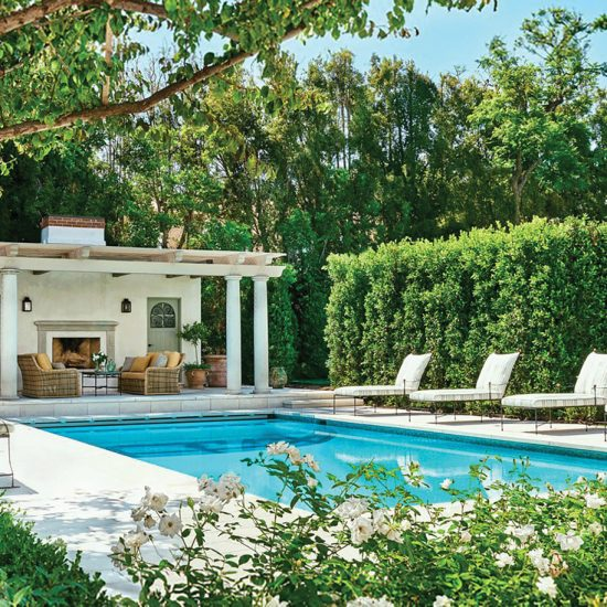 Italianate Villa Luxury Outdoor Living Restoration by HartmanBaldwin Photo by Architectural Digest
