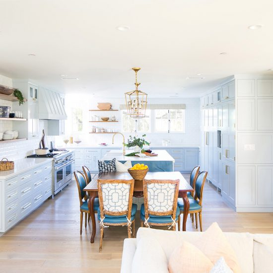 Hillside French Normandy Kitchen Renovation Design Rebuild by HartmanBaldwin