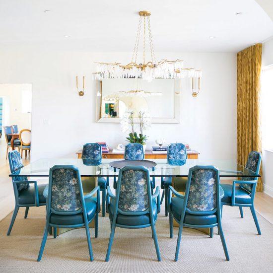 Hillside French Normandy Custom Dining Room Renovation Design Rebuild by HartmanBaldwin