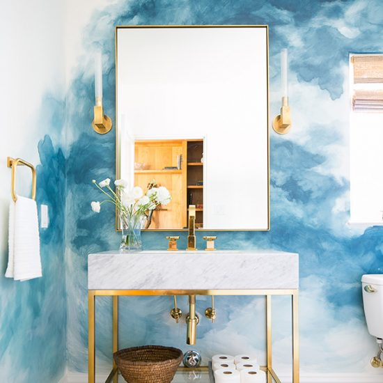 Hillside French Normandy Custom Bathroom Renovation Design Rebuild by HartmanBaldwin