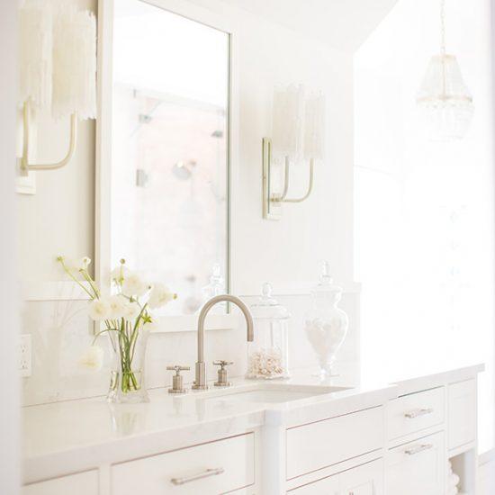 Hillside French Normandy Custom Bathroom Renovation by HartmanBaldwin
