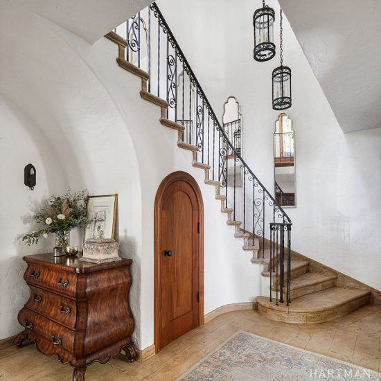 HartmanBaldwin Spanish Mediterranean Entryway Home Renovation