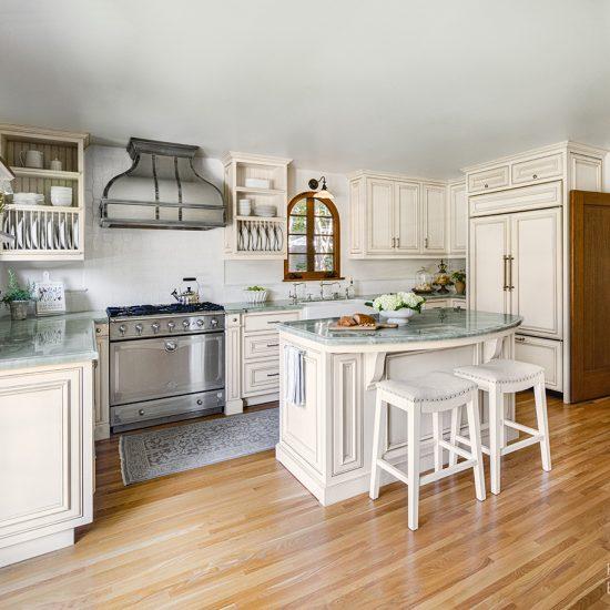 Spanish Mediterranean Kitchen Home Remodel by HartmanBaldwin