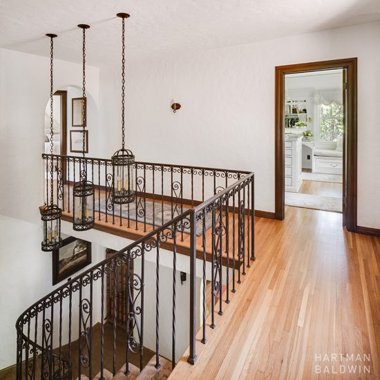 HartmanBaldwin Spanish Mediterranean Stairway Home Renovation