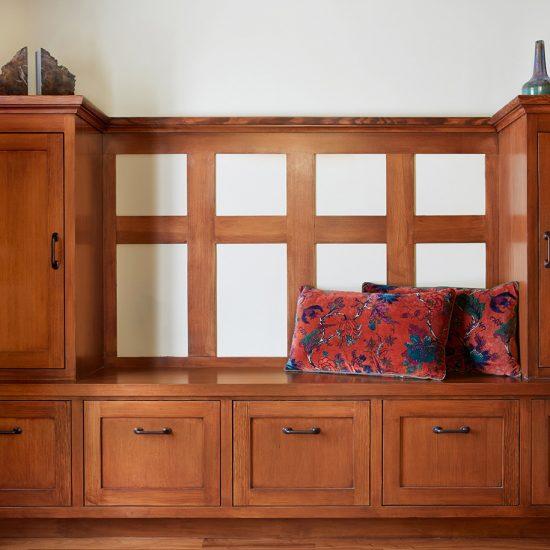 Craftsman Home Mud Room Renovation by HartmanBaldwin