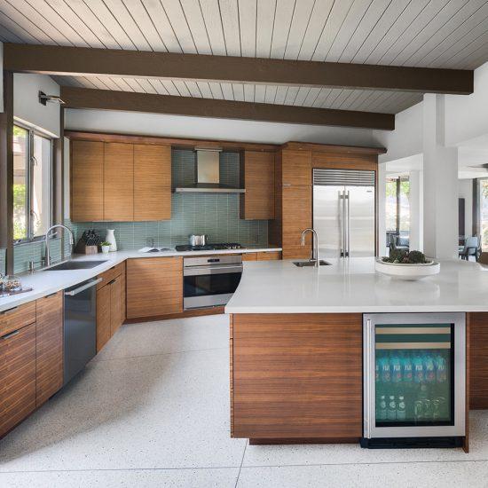 HartmanBaldwin Mid-Century Custom Home Kitchen Renovation