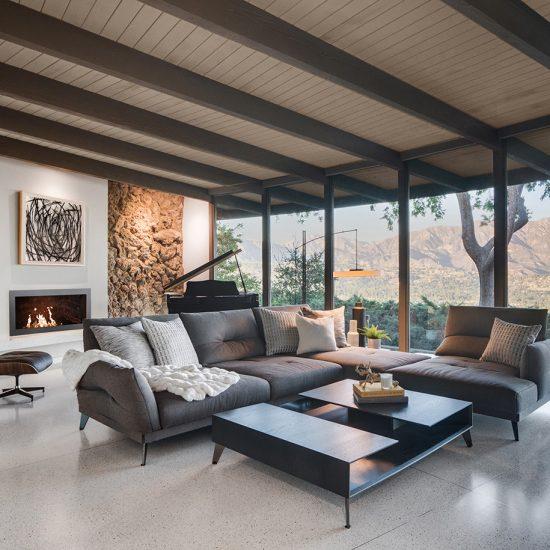 HartmanBaldwin Mid-Century Living Room Renovation