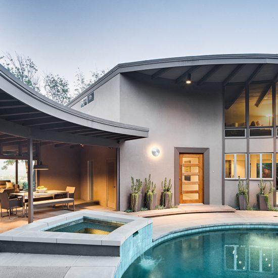 Mid-Century Modern Outdoor Living Remodel by Hartman Baldwin